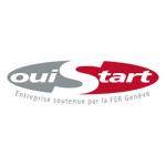 logo OuiStart, partenaire de Christophe Gatesoupe, pour la performance cognitive